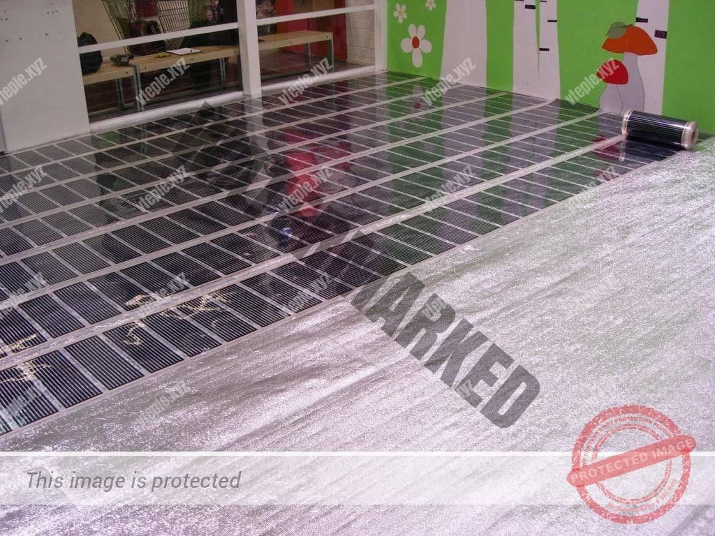 Как сделать электрические теплые полы под плитку своими руками 726