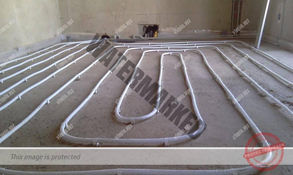 Толщина стяжки над водяным теплым полом - большая толщина стяжки