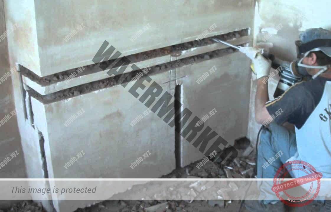 Штроба для труб отопления