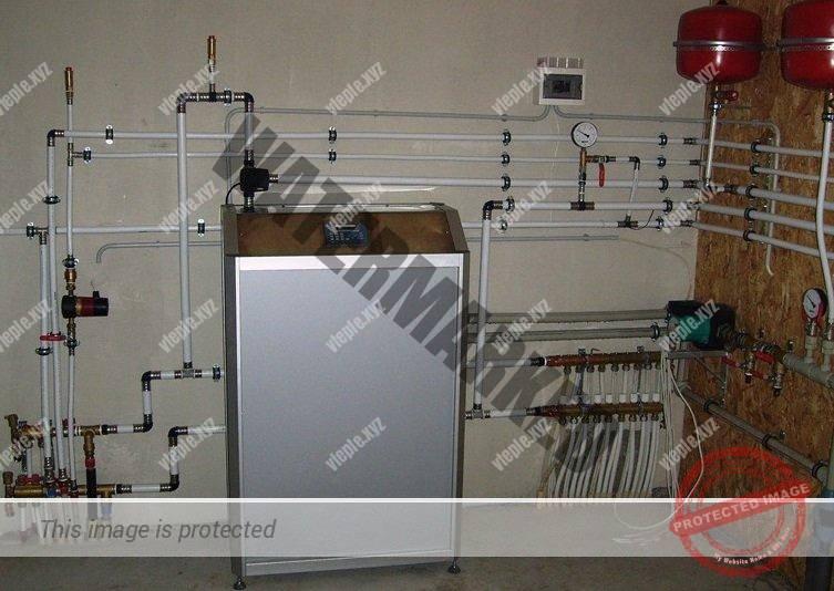 Геотермальный тепловой насос Heating Master, Рефком