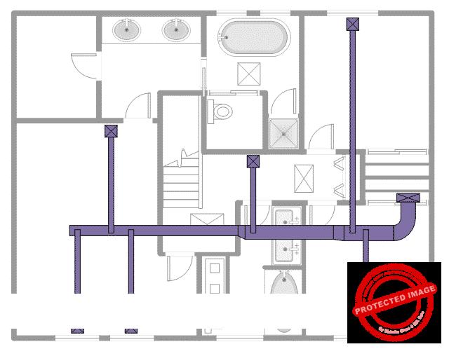 Схема канального кондиционера