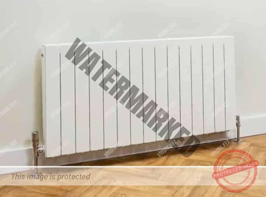 Алюминиевый радиатор без отсекателей воздуха