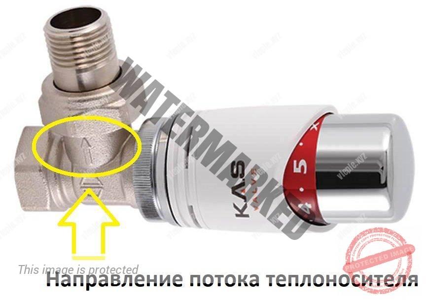 Почему шумят батареи отопления - неправильно установленный терморегулятор