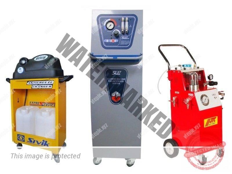 Установки для промывки систем охлаждения