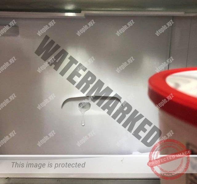Лед в воздуховоде холодильника No Frost