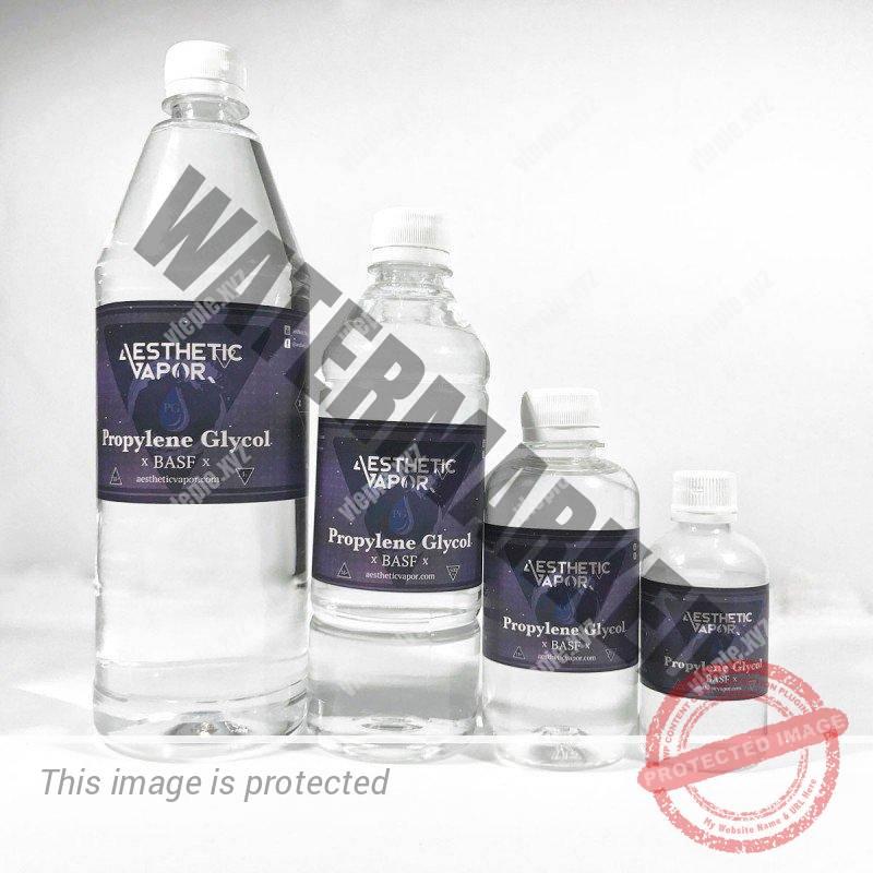 Пропиленгликоль в бутылках для пищевого применения, 4 варианта емкости